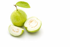 Guava on white background. Stock Images