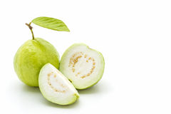 Guava on white background. Stock Image