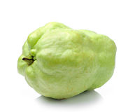 Guava   on white background Royalty Free Stock Photo