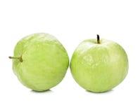 Guavas fruit isolated  white background Royalty Free Stock Photos