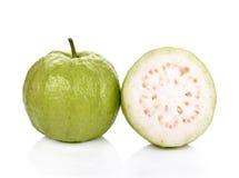 Guavas fruit isolated  white background Stock Photos