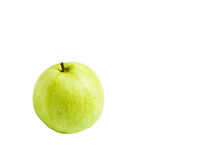 Guavas isolated on white background Royalty Free Stock Photos