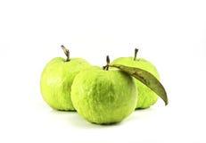 Guavas isolated on white background Royalty Free Stock Photo