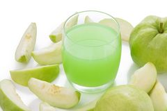 Guavas juice Stock Image
