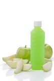 Guavas juice in bottle Stock Images