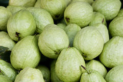 Guavas in the Market. Guavas on a market stall in Asia stock photos