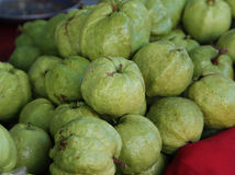 Guavas in the market Stock Photo
