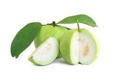 Free Guavas With Leaves Stock Photos - 21228683