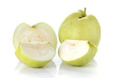 Guave auf weißem Hintergrund Stockfoto