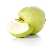 Guave auf weißem Hintergrund Lizenzfreies Stockbild