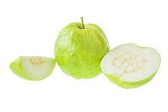 Guave die op Witte achtergrond wordt geïsoleerd Royalty-vrije Stock Foto