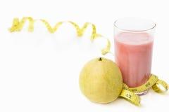 Guave en sap met het meten van band Stock Afbeelding