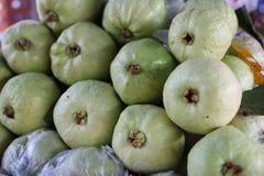 Guave ist eine Frucht, die einfach zu kaufen ist Geschmackvoll, kann für eine lange Zeit gespeichert werden Passend für das Holen lizenzfreie stockfotografie