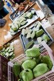 Guavefruit voor het proeven Royalty-vrije Stock Fotografie