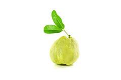 Guaven die in stuk worden gesneden Stock Foto
