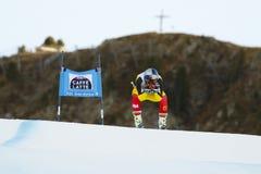 GUAY Erik i FIS alpina Ski World Cup - 3rd MÄNS SUPER-G Royaltyfria Bilder