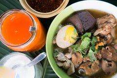 Guay Jab Noodles Stock Image