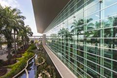 Guayaquil airport building and garden Stock Photos