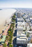 Guayaquil city view from above Stock Photography