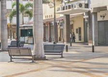 Guayaquil Ecuador i stadens centrum stads- plats Royaltyfria Foton
