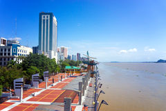 Guayaquil Malecon View. View of the waterfront, known as the malecon, in Guayaquil, Ecuador Stock Photography
