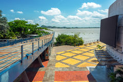 Guayaquil View. View of part of the boardwalk in Guayaquil, Ecuador Stock Photo