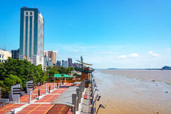 Guayaquil Waterfront. Waterfront in Guayaquil, the largest city in Ecuador Royalty Free Stock Images
