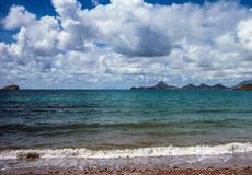Guaymas, Mexico. Beach on Pacific Coast in Guaymas, Mexico stock photography