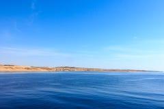 Gubal海峡  免版税库存图片