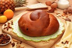 Gubana, sweet typical of Friuli Venezia Giulia, Italy Royalty Free Stock Photo