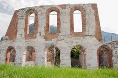 Gubbio, римское amphiteatre стоковая фотография rf
