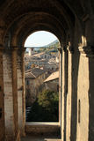 Gubbio. A beautiful medieval town: Gubbio Royalty Free Stock Photo