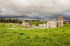 Gubbio Amphitheatre stockfoto