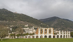 Gubbio Royalty Free Stock Photo