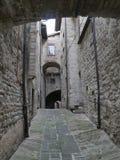 Gubbio - Cathedral street