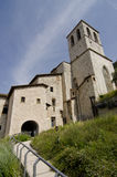 Gubbio Cathedral. (Umbria, centre of Italy Royalty Free Stock Photography