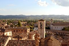 Gubbio - Central Italy Stock Photo