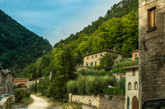 Gubbio contry side Royalty Free Stock Photo
