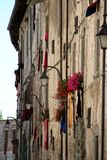 Gubbio /detail Fotos de archivo