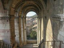 Gubbio Italien stockbilder
