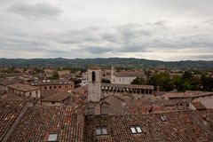 Gubbio. Italy. Landscapes of the old town. Stock Photos