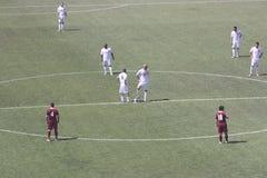 Gubbio at kick off Royalty Free Stock Images