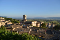 Gubbio medieval town in Umbria Royalty Free Stock Images