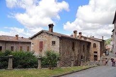 Gubbio, middeleeuwse stad in Umbrië Royalty-vrije Stock Fotografie