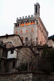 Gubbio palace Royalty Free Stock Image