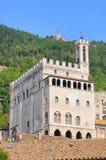 Gubbio Palazzo dei Consoli Stock Image