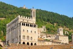 Gubbio Palazzo dei Consoli Stock Images