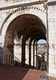 Gubbio - palazzo dei consoli Royalty Free Stock Image