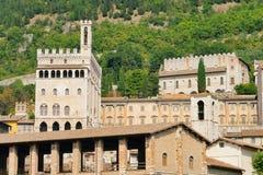 Gubbio Palazzo dei Consoli Royalty Free Stock Image