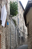 Gubbio (Perugia) Stock Photography